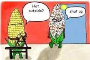 Hot outside