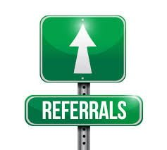 We Love Referrals!