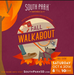 Fall 2014 South Park Walkabout