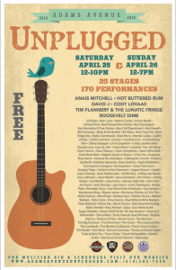 Adams Ave Unplugged 2015